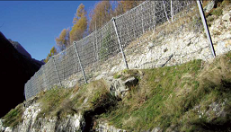 Rock & Avalanche Fall Barrier